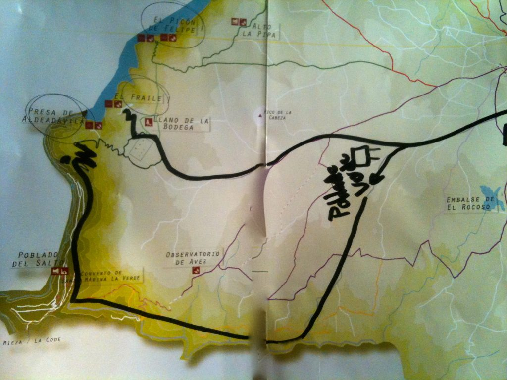 ruta al pantano de aldeadávila