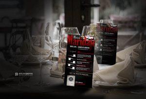 foto del folleto del maridaje con el vino 5DOs