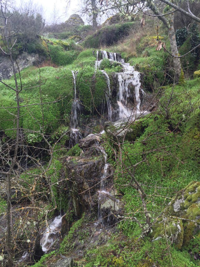 mas pequeñas cascadas cascada de Abelón