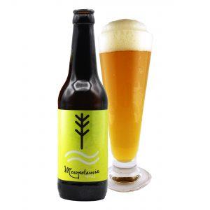 Cerveza Mesopotamia Pale Ale 33 cl.