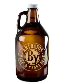 growler para cerveza personalizado para Abadía de Aribayos