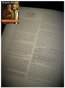 Libro sobre vino de Émile Peynaud