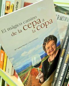 Libro sobre vino de M Isabel Mijares