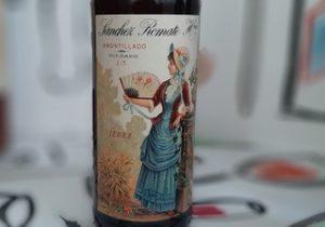 vino amontillado sánchez