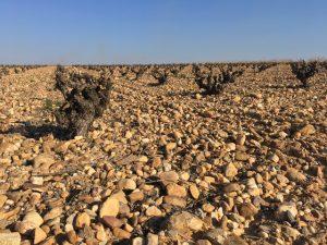 suelo de canto rodado y arena